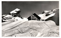 Lidernenhütte (644) - Hüttenstempel 11. 4. 1968 - UR Uri