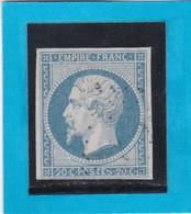 N° 14 Af  - NAPOLEON III - 1854 - Oblitéré  Losange PC - REF 1448 - 1853-1860 Napoléon III