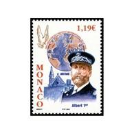 Timbre N° 2387 Neuf ** - Centenaire De L'Institut International De La Paix. Portrait Du Prince Albert 1er. - Monaco