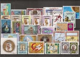 Koweit ( Lot De Timbres Divers Différents Oblitérés) - Koeweit