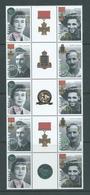 Australia 1995 WWII Famous Australians Series I Gutter Block Of 10 MNH - 1990-99 Elizabeth II