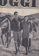 (pagine-pages)LUCIA BOSE' E LUIS DOMINGUIN  Oggi1955/49 - Livres, BD, Revues
