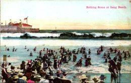 California Long Beach Bathing Scene - Long Beach