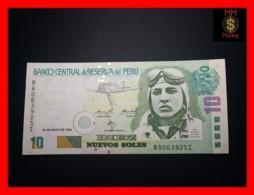 PERU 10 Nuevos Soles 20.5.1999 P. 166  BABC  VF - Perù