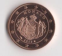 ** RARE 5 CENT MONACO 2013 NEUVE  ** - Monaco