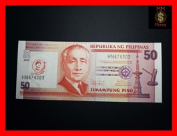 PHILIPPINES 50 Piso 2013  P. 215  *COMMEMORATIVE*   UNC - Philippines