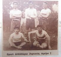 JEGUN (GERS): SPORT ATHLÉTIQUE JEGUNOIS (BASKET) (PHOTO DE JOURNAL: 09/1932) - Midi-Pyrénées