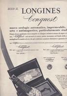 (pagine-pages)PUBBLICITA' LONGINES  Oggi1955/49 - Livres, BD, Revues