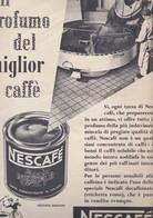(pagine-pages)PUBBLICITA' NESCAFE'  Oggi1955/49 - Livres, BD, Revues