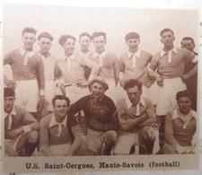 SAINT-CERGUES (HAUTE-SAVOIE): U.S. SAINT-CERGUES (FOOTBALL) (PHOTO DE JOURNAL: 09/1932) - Alpes - Pays-de-Savoie