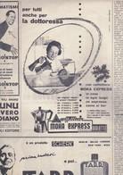 (pagine-pages)PUBBLICITA' MOKA EXPRESS  Oggi1955/49 - Livres, BD, Revues