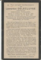 BP Delecluyse Leonardus (Lichtervelde 1828 - 1909) - Collections
