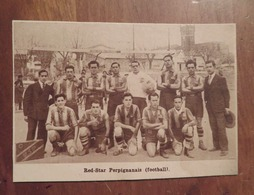 PERPIGNAN (PYRÉNÉES-ORIENTALES): RED-STAR PERPIGNANAIS (FOOTBALL) (PHOTO DE JOURNAL: 08/1933) - Languedoc-Roussillon