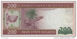 MAURITANIA P. 17 200 O 2013 UNC - Mauritania
