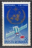 RUMÄNIEN  3128, Postfrisch **, 100 Jahre Internationale Organisation Für Meteorologie OMM OMI, 1973 - Unused Stamps