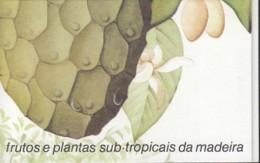 MADEIRA Markenheftchen 10, Postfrisch **, Subtropische Früchte Und Pflanzen 1990 - Madeira