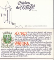 PORTUGAL  Markenheftchen Mit 4x 1680, Gestempelt, Portugiesische Burgen Und Schlösser, 1986 - Carnets