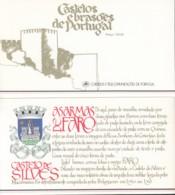 PORTUGAL  Markenheftchen Mit 4x 1709, Postfrisch **, Portugiesische Burgen Und Schlösser, 1987 - Carnets