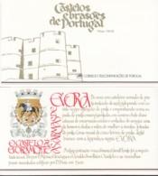 PORTUGAL  Markenheftchen Mit 4x 1708, Postfrisch **, Portugiesische Burgen Und Schlösser, 1987 - Carnets