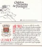 PORTUGAL  Markenheftchen Mit 4x 1721, Postfrisch **, Portugiesische Burgen Und Schlösser, 1987 - Carnets