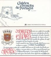 PORTUGAL  Markenheftchen Mit 4x 1720, Postfrisch **, Portugiesische Burgen Und Schlösser, 1987 - Carnets