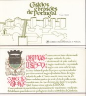 PORTUGAL  Markenheftchen Mit 4x 1732, Postfrisch **, Portugiesische Burgen Und Schlösser, 1987 - Carnets