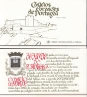 PORTUGAL  Markenheftchen Mit 4x 1733, Postfrisch **, Portugiesische Burgen Und Schlösser, 1987 - Carnets