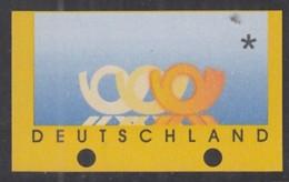 BRD ATM 3, Leerfeld, Geschlossene Transportlöcher, Postfrisch **, 1999 - BRD