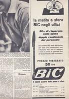 (pagine-pages)PUBBLICITA' BIC  Oggi1955/24. - Livres, BD, Revues