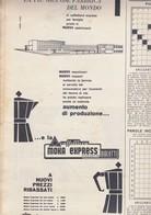 (pagine-pages)PUBBLICITA' MOKA EXPRESS  Oggi1955/24. - Livres, BD, Revues