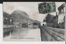 Grenoble. Les Quais Et Le Saint Eynard. De Michel à M. M. Pavial à Lyon. 1911. - Grenoble