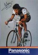 Postcard Guy Nulens (card Souple) - Panasonic - 1986 - Ciclismo