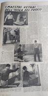 DOMENICA DEL CORRIERE 1940 I MAESTRI VETRAI DI MURANO - Livres, BD, Revues