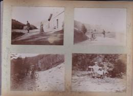 Lot De 39 Photographies D'amateurs Jura Les Rousse Col De La Faucille St Claude Mijoux 1899 Ref 200761 - Orte