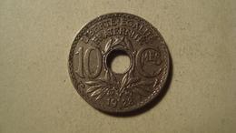MONNAIE FRANCE 10 CENTIMES LINDAUER 1928 - D. 10 Centimes