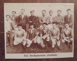 GRADIGNAN (GIRONDE): U.S. GRADIGNANAISE (FOOTBALL) (PHOTO DE JOURNAL: 11/1931) - Aquitaine