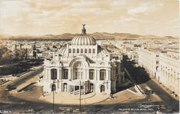 Carte-photo - Palacio De Bellas Artes, Mex. - Mexique