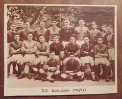 AUTUN (SAÔNE-ET-LOIRE): U.S. AUTUNOISE (RUGBY) (PHOTO DE JOURNAL: 11/1931) - Bourgogne