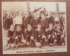 PONTIVY (MORBIHAN): STADE PONTIVYEN- ÉQUIPE 1 (FOOTBALL) (PHOTO DE JOURNAL: 11/1931) - Bretagne