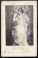 ITALIA VITALIANI Actriz Italiana. Tarjeta Cartolina Postale Attrice Teatrale Cinematografica. Actress ITALY / SPAIN 1900 - Artistes