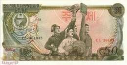 KOREA 50 WON 1978 PICK 21a UNC - Korea, Noord