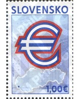 Ref. 231635 * MNH * - SLOVAKIA. 2009. SLOVAKIA ENTERING THE EURO ZONE . ENTRADA DE ESLOVAQUIA EN LA ZONA EURO - Slovaquie
