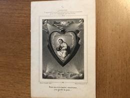Doucet Félicite Religieuse Du Sacré Cœur *1822 Bruxelles +1845 Jette St Pierre Fille Louis & Devillers Claire - Décès