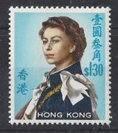"""HONG KONG...QUEEN ELIZABETH II.(1952-NOW..).."""" 1962..""""......$1.30........SG206d......MNH...... - Hong Kong (...-1997)"""