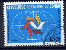 CONGO - 593° - CONFERENCE MONDIALE DU TOURISME - Oblitérés