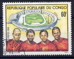 CONGO - 602° - STADE DE LA REVOLUTION - Oblitérés