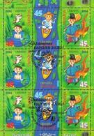 Ukraine 2004 Mi.No. 652 - 654   Folk Fairy Tales M\sh  CTO   4,00 € - Oekraïne
