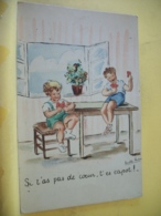 B14 2766 CPSM PM 1948 - SI T'AS PAS DE COEUR, T'ES CAPOT ! PAR VERDIER - Illustrateurs & Photographes