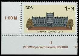 DDR 1986 Nr 3035 Postfrisch ECKE-ULI X0D27C2 - Ungebraucht