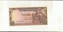Billet  SYRIE  1 POUND   (Mai 2020  015) - Syrien